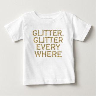 Camiseta Para Bebê Brilho do brilho cada onde