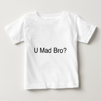Camiseta Para Bebê Bro louco de U?
