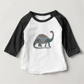 Camiseta Para Bebê Brontosaurus