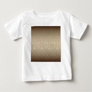 Camiseta Para Bebê Bronze, ouro, nouveau da arte, art deco, vintage,