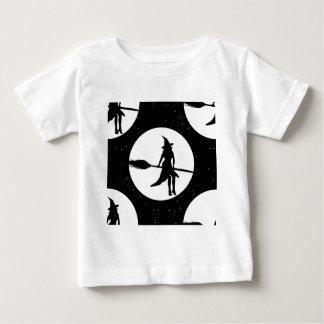 Camiseta Para Bebê bruxa do Dia das Bruxas