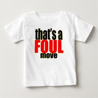 Camiseta Para Bebê bu moventes de engano sujos da ação do movimento