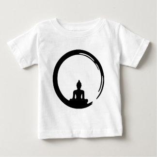 Camiseta Para Bebê Buda silent