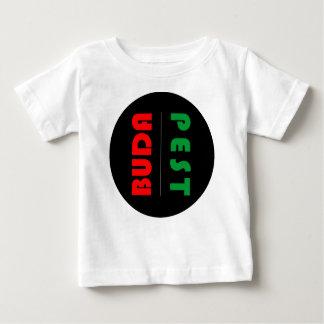 Camiseta Para Bebê Budapest minimalist - circle - 01