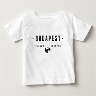 Camiseta Para Bebê Budapeste
