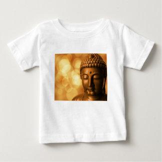 Camiseta Para Bebê Buddha dourado