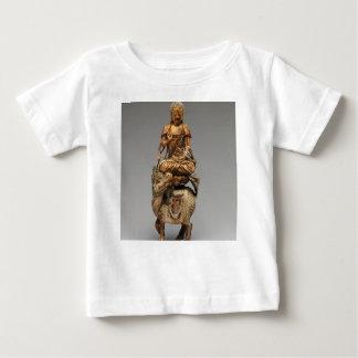 Camiseta Para Bebê Buddha Shakyamuni com bodhisattvas assistentes