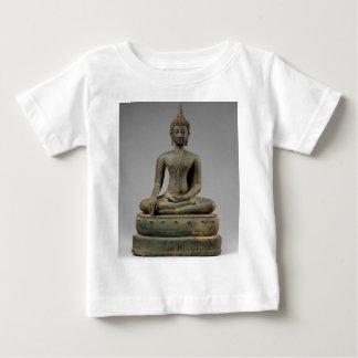 Camiseta Para Bebê Buddha - Tailândia assentados