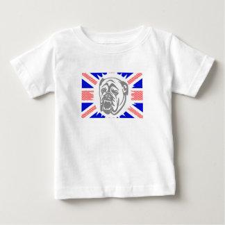 Camiseta Para Bebê Buldogue britânico