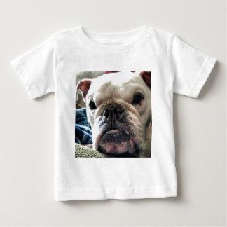 Camiseta Para Bebê Buldogue inglês