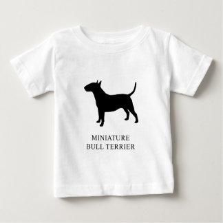 Camiseta Para Bebê Bull terrier diminuto
