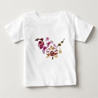 Camiseta Para Bebê Buquê da flor da orquídea do Phalaenopsis