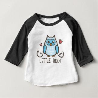 Camiseta Para Bebê Buzina pequena azul