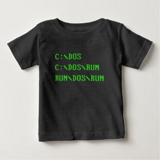 Camiseta Para Bebê C:\DOS C:\DOS\RUN FUNCIONADO \ DOS \ FUNCIONA a