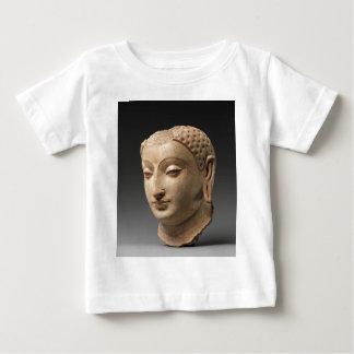 Camiseta Para Bebê Cabeça de Buddha - 5o-6o século