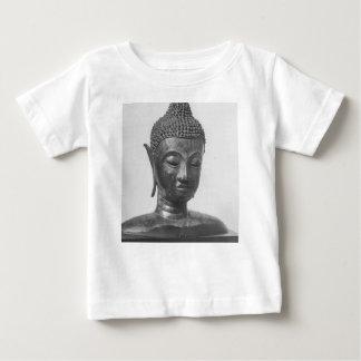 Camiseta Para Bebê Cabeça de Buddha - século XV - Tailândia