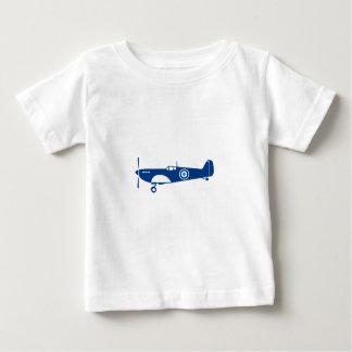 Camiseta Para Bebê Cabeça-quente do avião de combate da guerra