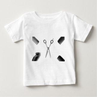 Camiseta Para Bebê Cabeleireiros