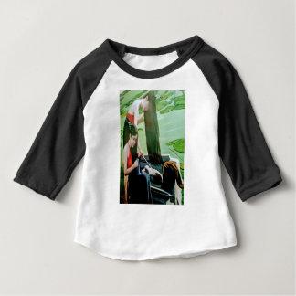 Camiseta Para Bebê Cabelo de lavagem da mulher de Vietnam