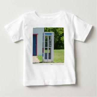 Camiseta Para Bebê Cabine de telefone