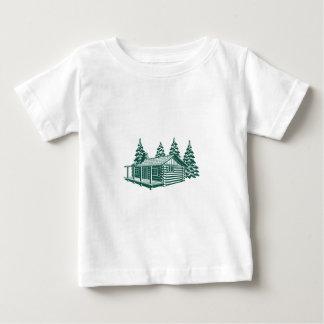 Camiseta Para Bebê Cabine nas madeiras…