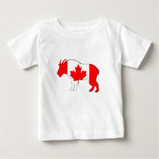 Camiseta Para Bebê Cabra Canadá