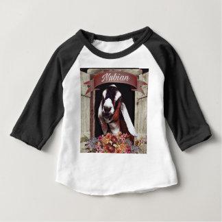 Camiseta Para Bebê Cabra de Nubian