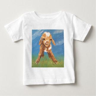 Camiseta Para Bebê Cabra do bebê