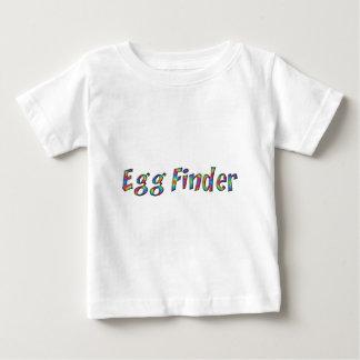 Camiseta Para Bebê Caça do ovo de felz pascoa da tipografia do