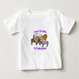 Camiseta Para Bebê Caça do troféu da extremidade!