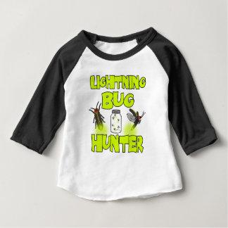 Camiseta Para Bebê caçador do inseto de relâmpago
