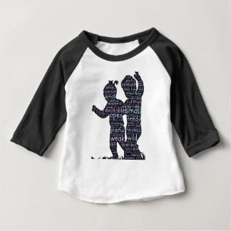 Camiseta Para Bebê Caçoa o attri
