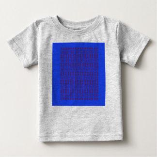 Camiseta Para Bebê Caçoa o azul árabe do t-shirt