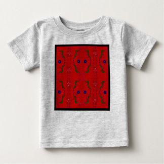 Camiseta Para Bebê Caçoa o tshirt artístico com ornamento árabes