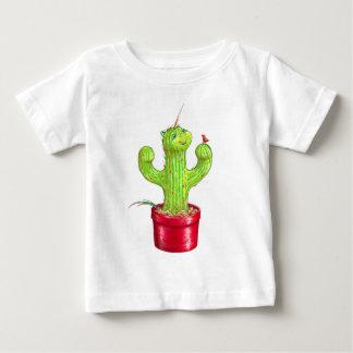 Camiseta Para Bebê Cacticorn