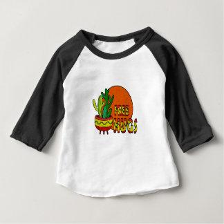 Camiseta Para Bebê Cacto - abraços livres