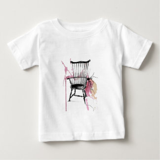 Camiseta Para Bebê Cadeira de Windsor