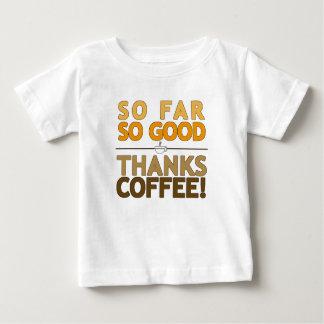 Camiseta Para Bebê Café dos obrigados