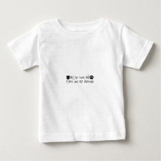 Camiseta Para Bebê café e airedale