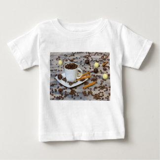 Camiseta Para Bebê Café e especiarias