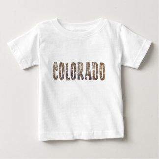 Camiseta Para Bebê Café e estrelas de Colorado