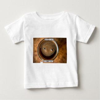 Camiseta Para Bebê Café feliz