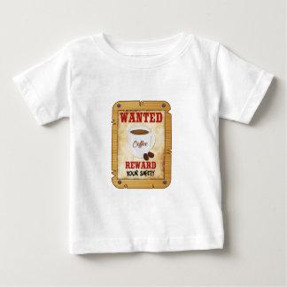 Camiseta Para Bebê Café querido