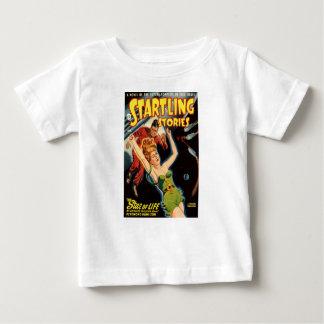 Camiseta Para Bebê Caiu fora de uma nave espacial