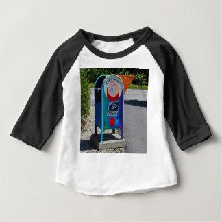 Camiseta Para Bebê Caixa postal da ilha de Captiva horizontal