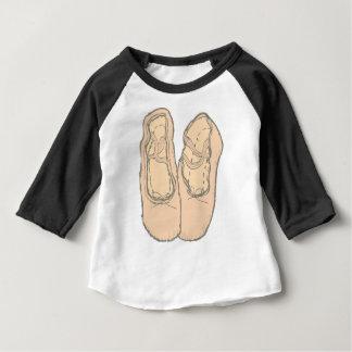 Camiseta Para Bebê Calçados de balé