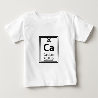 Camiseta Para Bebê Cálcio 20