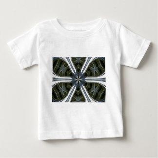 Camiseta Para Bebê caleidoscópio abstrato