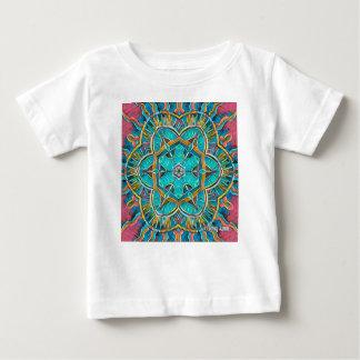 Camiseta Para Bebê Caleidoscópio do tema do verão