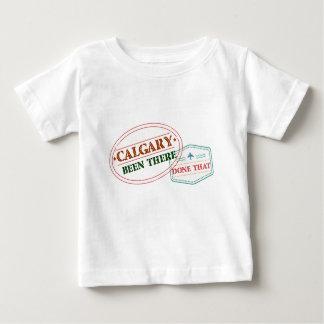Camiseta Para Bebê Calgary feito lá isso
